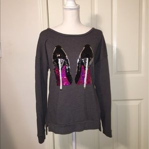 Juicy Couture High Heels Sweatshirt
